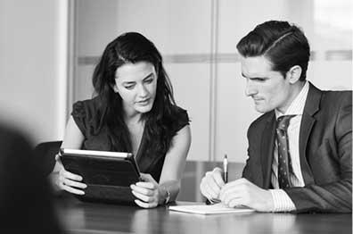 我們提供可助您實現業務目標的理財產品、服務和建議。